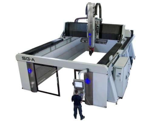 Fresadora SG-A para aluminio y composite