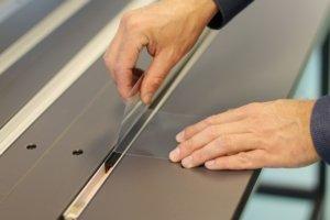 dobladora acrilic per termoplastics